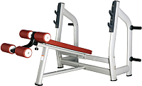 Скамья для жима штанги Bronze Gym H-024_C -