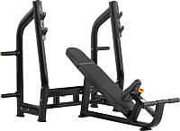 Скамья для жима штанги Bronze Gym H-025_B -