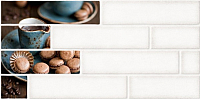 Декоративная плитка Belani Брик 1 кремовый (300x600) -