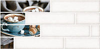 Декоративная плитка Belani Брик 2 кремовый (300x600) -
