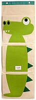 Органайзер для хранения 3 Sprouts Зеленый крокодил / 67401 -