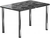 Обеденный стол Васанти Плюс ПРФ 120x80 (хром/98) -