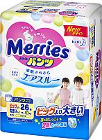 Подгузники-трусики детские Merries XXL (26шт) -