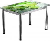Обеденный стол Васанти Плюс ПРФ 120x80/3/ОА (хром/55) -