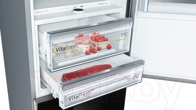 Холодильник с морозильником Bosch KGN49SB3AR