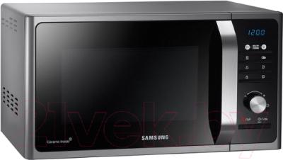 Микроволновая печь Samsung MG23F302TAS - вид спереди
