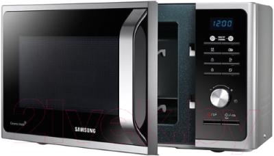 Микроволновая печь Samsung MG23F302TAS - с открытой крышкой 1