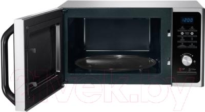 Микроволновая печь Samsung MG23F302TAS - с открытой крышкой 2