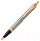 Ручка шариковая имиджевая Parker IM Metal Core Brushed Metal GT 1931670 -