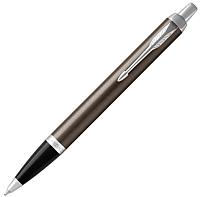 Ручка шариковая имиджевая Parker IM Metal Core Dark Espresso CT 1931671 -