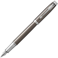 Ручка перьевая имиджевая Parker IM Premium Dark Espresso Ciselled CT 1931681 -