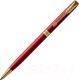 Ручка шариковая имиджевая Parker Sonnet Slim Lacquer Intense Red GT 1931477 -