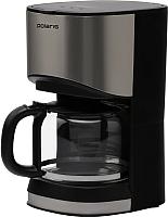 Капельная кофеварка Polaris PCM 1215A (нержавеющая сталь/черный) -