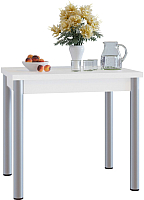 Обеденный стол Сокол-Мебель СО-1м (белый) -