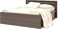 Каркас кровати Сокол-Мебель К-2 140x200 (венге) -