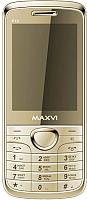 Мобильный телефон Maxvi P10 (золото) -