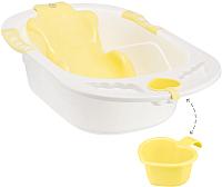 Ванночка детская Happy Baby Комфорт 34005 (желтый) -