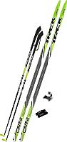 Комплект беговых лыж TREK Step 0075 (195/155) -