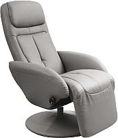 Кресло-реклайнер Halmar Optima (серый) -