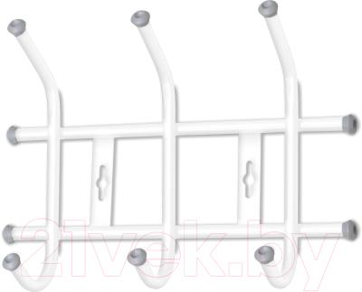 Вешалка для одежды Ника ВНТ3 (белый)