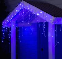 Светодиодная бахрома Luazon Бахрома уличная 2361676 (4x0.6м, синий) -