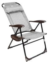 Кресло складное Ника КШ2 (бамбук) -