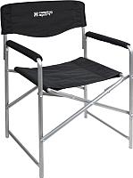 Кресло складное Ника Привал / КС3 (черный) -