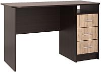 Письменный стол Интерлиния СК-001 (дуб венге/дуб серый) -