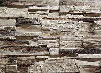 Декоративный камень Baastone Вайсхорн светло-желтый, черный 102 (490x95x10-25) -