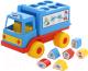Развивающая игрушка Полесье Логический грузовичок Смурфики с 6 кубиками №2 / 64387 -