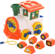 Развивающая игрушка Полесье Логический паровозик Миффи с 6 кубиками №2 / 64257 -