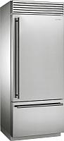 Холодильник с морозильником Smeg RF396RSIX -