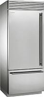 Холодильник с морозильником Smeg RF396LSIX -
