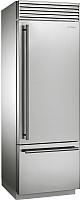 Холодильник с морозильником Smeg RF376RSIX -