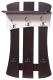 Вешалка для одежды Мебель-Класс Нюанс-2 / МК 501.03.2 (венге/ дуб шамони) -
