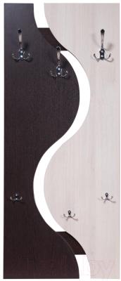 Вешалка для одежды Мебель-Класс Порто-2/МК 501.09.2 (венге/дуб шамони)