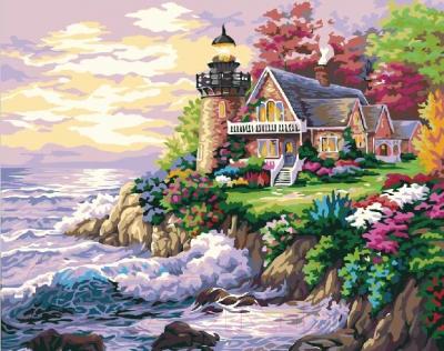 Картина по номерам Picasso Дом у маяка (PC4050262)