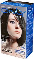 Гель-краска для волос Estel Only 1/0 (черный классический) -