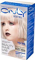 Гель-краска для волос Estel Only 10/36 (светлый блондин золотисто-фиол.) -
