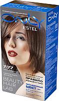 Гель-краска для волос Estel Only 7/77 (русый коричневый интенсивный) -