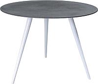 Обеденный стол Signal Evita 100x76 (серый/белый) -