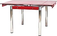 Обеденный стол Signal GD082 (красный) -