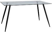 Обеденный стол Signal Nino 140x80 (черный) -