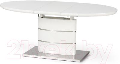 Обеденный стол Halmar Aspen 140-180x90 (белый)