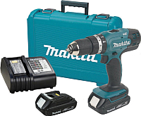 Профессиональная дрель-шуруповерт Makita DHP453SYE -