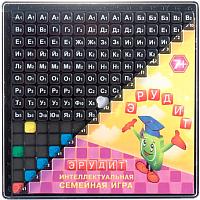 Настольная игра Биплант Эрудит / BP-10011 (черные фишки) -