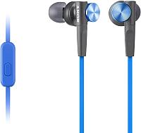 Наушники-гарнитура Sony MDR-XB50AP (синий) -