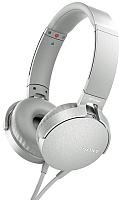 Наушники-гарнитура Sony MDR-XB550AP (белый) -