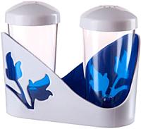 Набор для специй столовый Berossi Viola ИК 20010000 (синий полупрозрачный) -