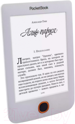 Электронная книга PocketBook Basic 3 / PB614-2-D-CIS (белый)